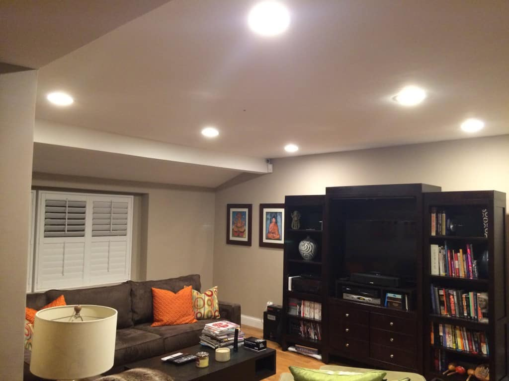 living room ceiling lighting