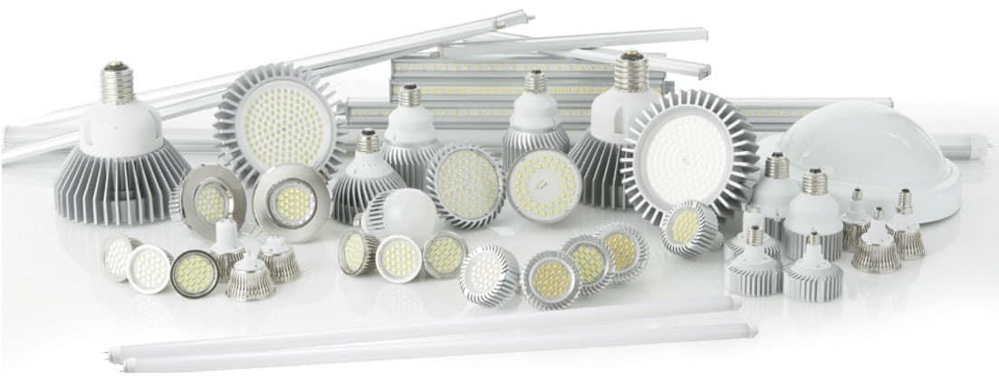 led bulb montage