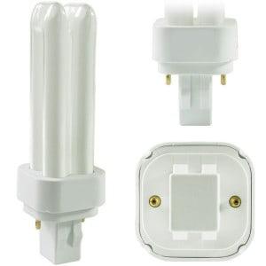 Quad13 CFL w/2-pin base