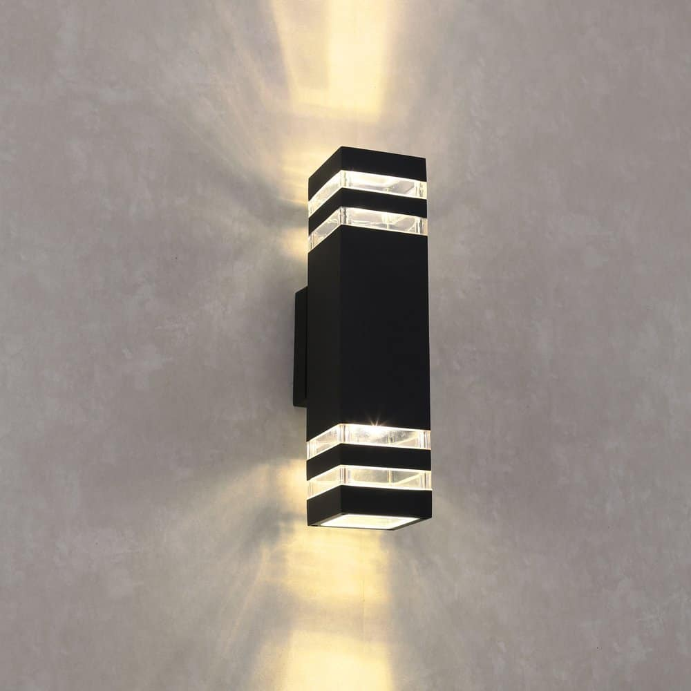 Modern led outdoor wall lights for Led yard light fixtures