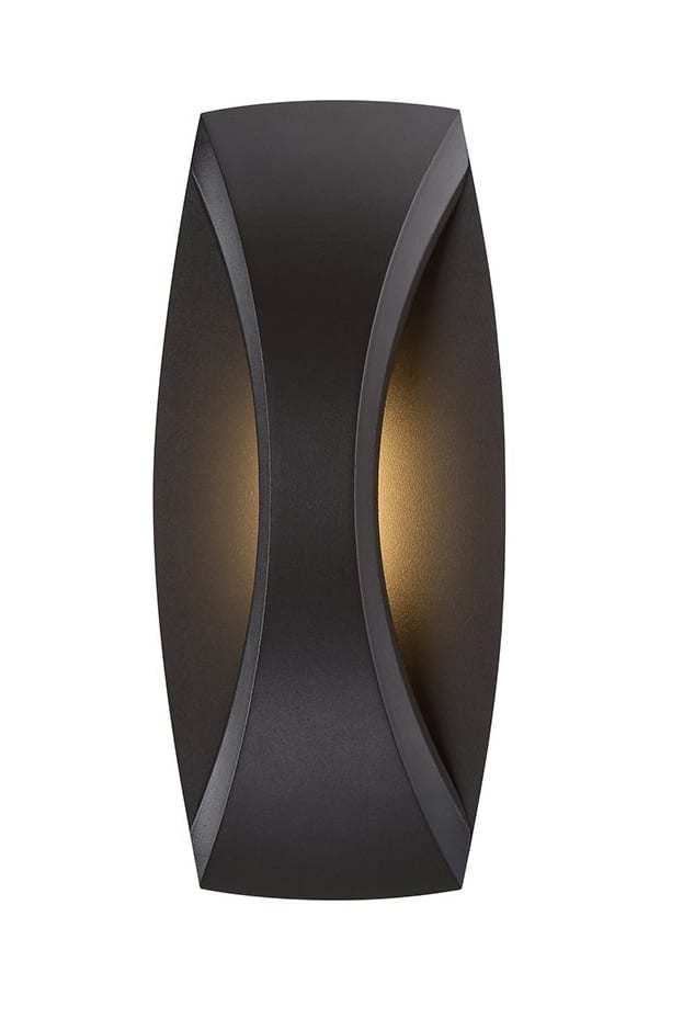 WAC Lighting WS-W26513-BZ Arch 13 inch LED Outdoor Wall Light Fixture