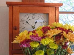 autumn clock