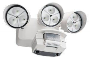 lithonia 3-head led security fixture