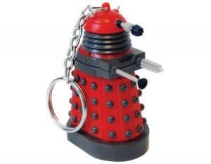 doctor who mini torch led key chain