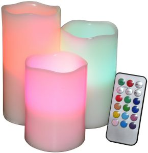 fragrance spectrum led candles