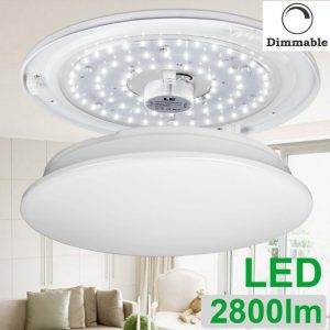 round led ceiling fixture