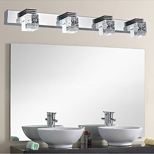 10 modern led fixtures to spice up your bathroom. Black Bedroom Furniture Sets. Home Design Ideas