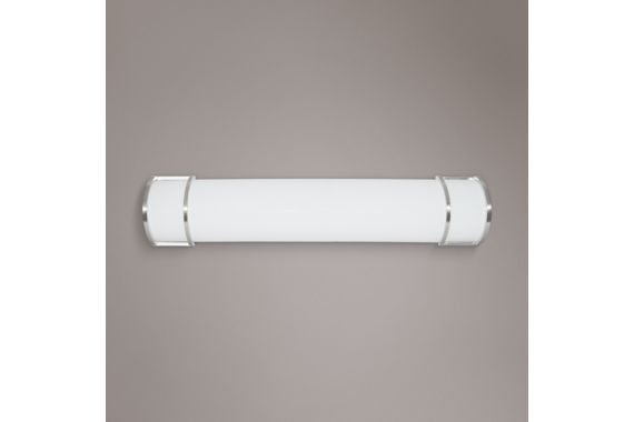 Brushed Nickel Led Bathroom Light By Kuzco Lighting: 10 Modern LED Fixtures To Spice Up Your Bathroom