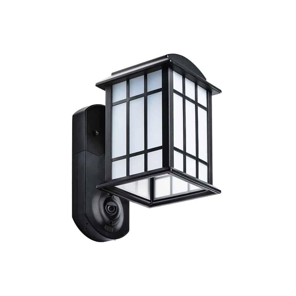 Light fixture with a camera and alarm kuna home security outdoor light and camera arubaitofo Choice Image