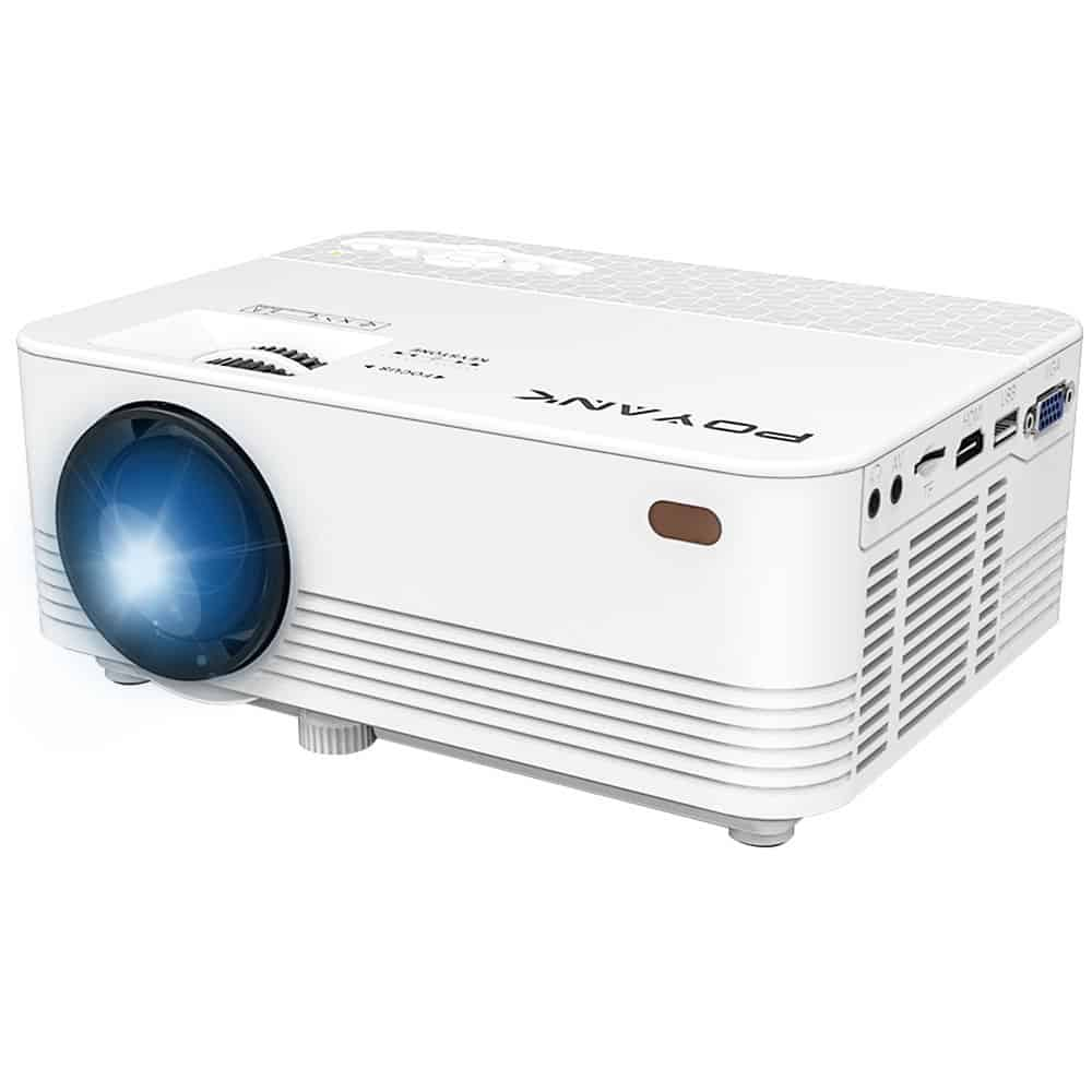POYANK 2000Lumen Portable Video Projector