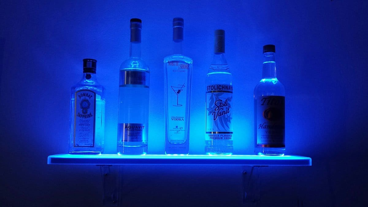 led party bar