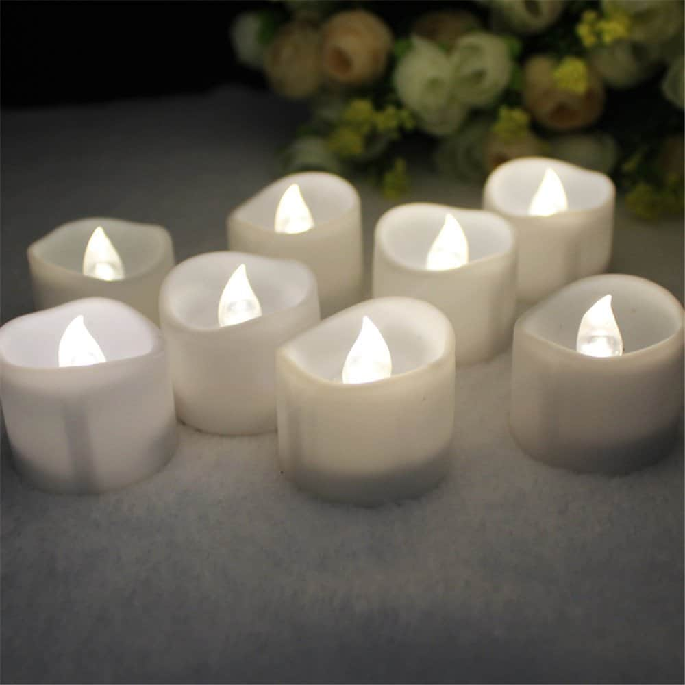 tea lights flameless candles with remote control