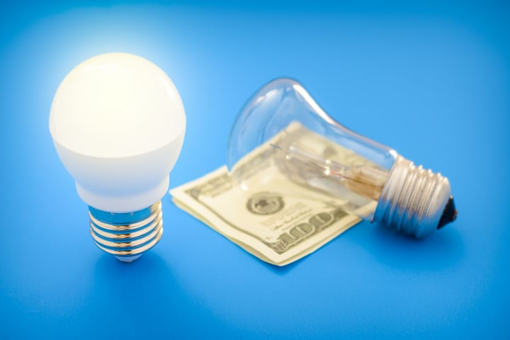 LED vs incandescent