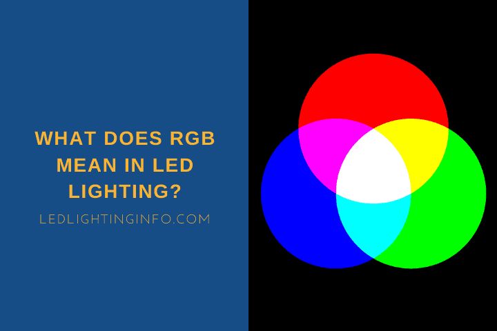What Does RGB Mean In LED Lighting?