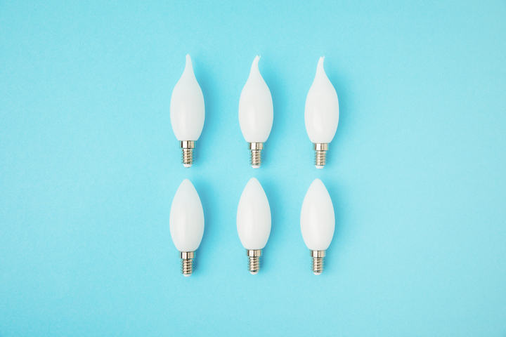 E12 bulbs B11 and CA11