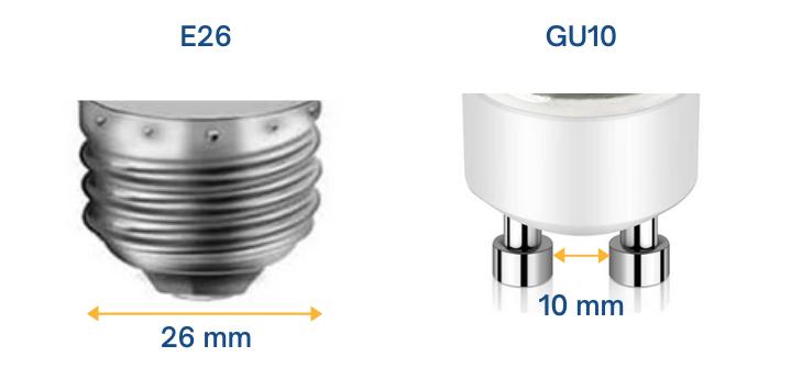 bulb base sizes