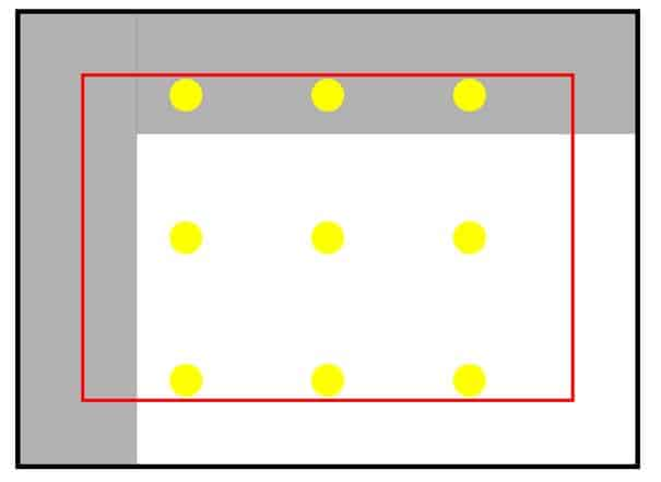 spotlight positioning