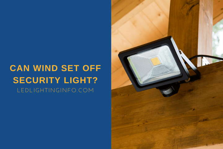 Can Wind Set Off Security Light?