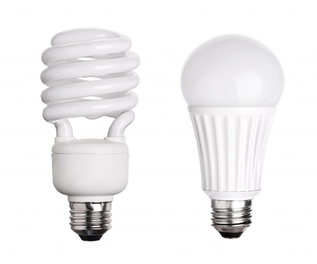 CFL and LED bulb