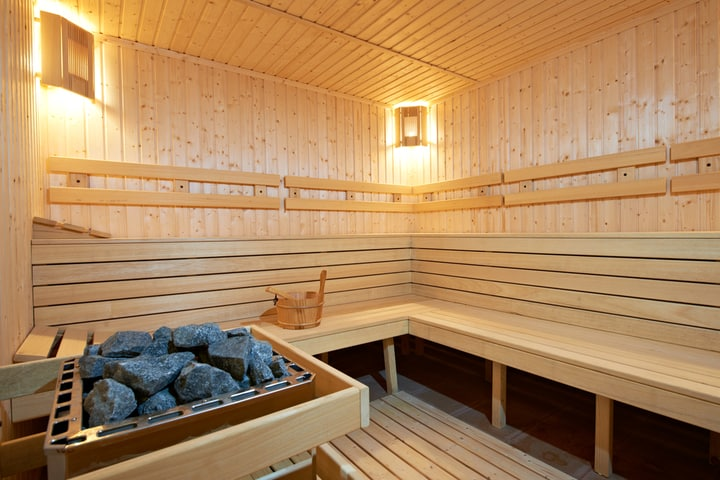 finland style sauna