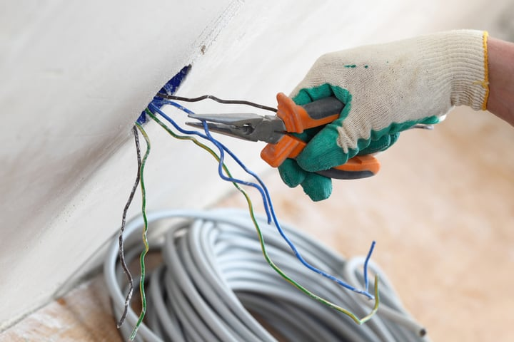 wire installation