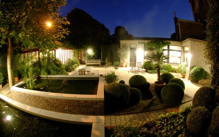 light in the night garden