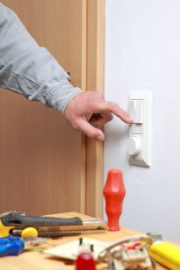 installing a light switch