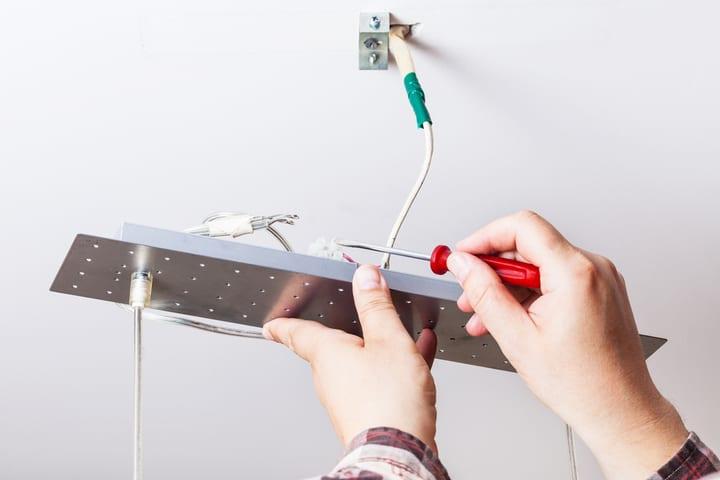 fixture wiring