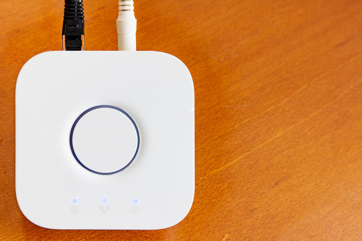 Smart hub connected