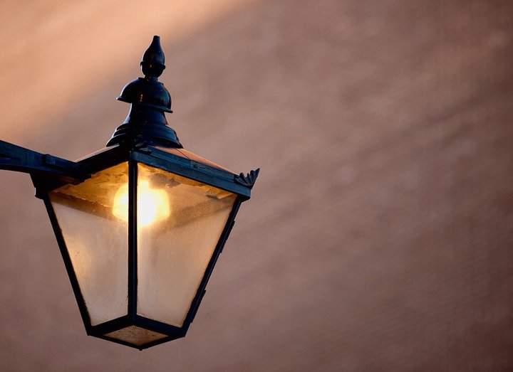 Sodium Street lamp